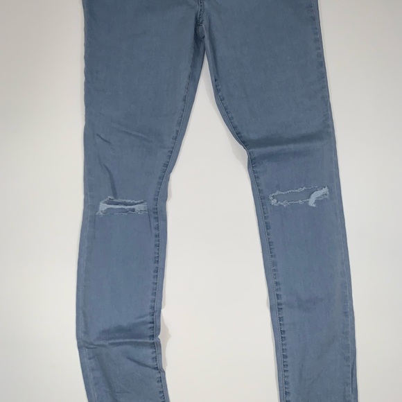 ac3893871f2fa3 PacSun Jeans | Super High Rise Jegging Bundy Blue | Poshmark